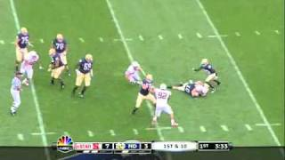 Chase Thomas vs Notre Dame