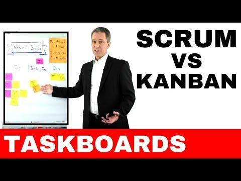 Scrum vs Kanban - agile Projektmanagement-Methoden im Vergleich