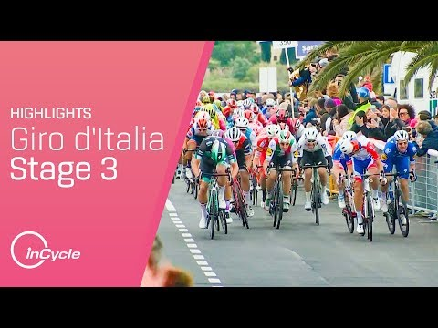 Giro d'Italia 2019 | Stage 3 Highlights | inCycle