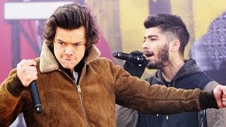 Harry Styles Falls Onstage In Rio During 'Best Song Ever'