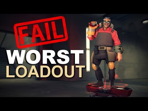 The Worst Loadout In TF2! [Epic Fail]
