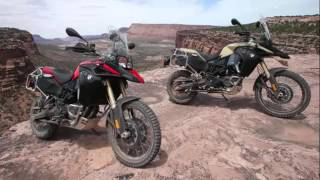 4. Motor Cars Review, 2014 BMW F800GS Adventure vs  Triumph Tiger 800XC