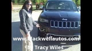 2014 Jeep Grand Cherokee Overland First Test Drive Blackwell Chrysler Jeep Dodge Kia