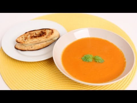 Fresh Tomato Soup Recipe - Laura Vitale - Laura in the Kitchen Episode 627