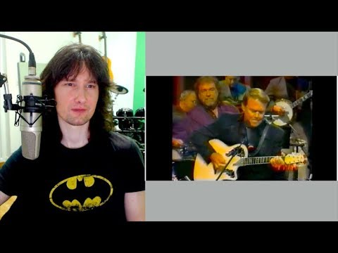 British guitarist reacts to Glen Campbell SHREDDING, country style! (видео)