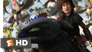 Video How to Train Your Dragon 2 (2014) - Toothless vs. The Bewilderbeast Scene (10/10) | Movieclips MP3, 3GP, MP4, WEBM, AVI, FLV Januari 2019