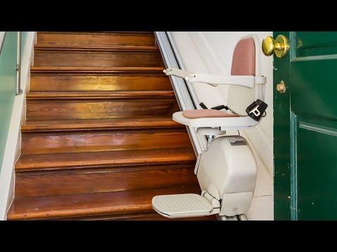 Treppenlift: Wenn das