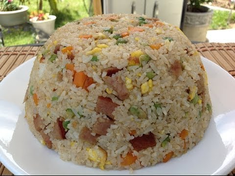 How To Make Spam Fried Rice Recipe-Asian Comfort Food Recipes