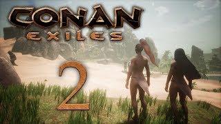 Conan Exiles — прохождение игры на русском — В поисках места для дома [#2] | PC