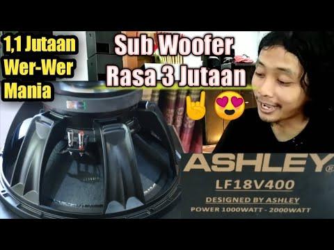 ASHLEY LF18 V400 Unbox & Review Speaker || Terjangkau Dijamin Horegh 😍❓