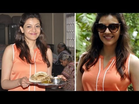 Kajal Aggarwal Celebrates Her Birthday At Old Age