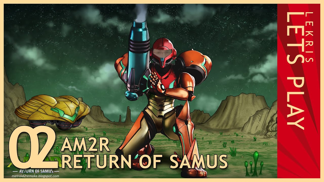 Let's Play AM2R - Return of Samus 1.0 Full Version #02