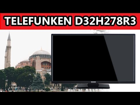 Test: Telefunken D32H278R3 / D32H278I3I 32 Zoll LED TV (Deutsch German)