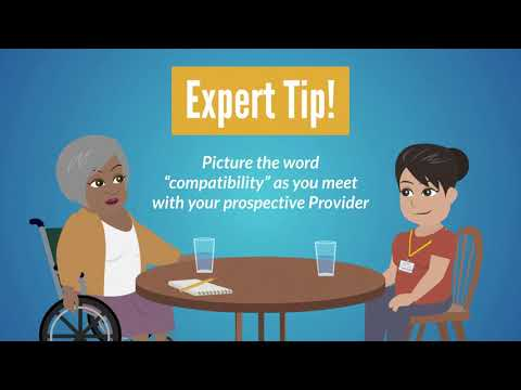 Video thumbnail of How to Find and Hire a Care Provider.