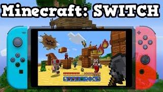 Minecraft Switch Gameplay, Details, Release Date
