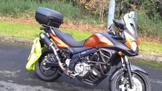 10. 2012 Suzuki v strom review 5000 miles on & update