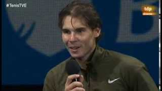 Tennis Highlights, Video - INTERVIEW: Rafa congratulates Nole on his victory (Djokovic def Nadal 6-3, 6-4, London)