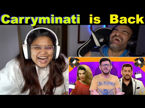 The Land of BIGG BOSS Reaction   Carryminati   The S2 Life