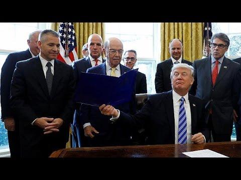 Ο Τραμπ ενέκρινε τη συνέχιση του αγωγού Keystone ΧL