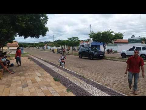 Miranda publicidades na avenida São Francisco em Juazeiro do Piauí