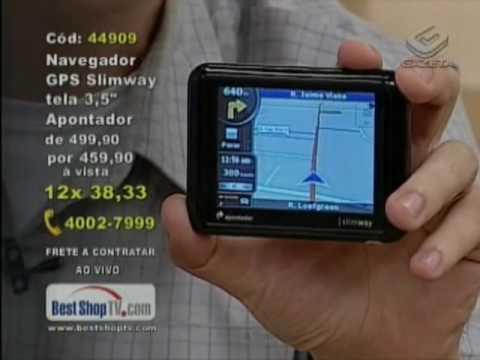 BestShopTV.com Fernando apresenta o GPS mais fino do mundo.