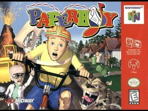 paperboy game nintendo 64