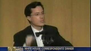 Colbert bombs on Meet The Press - sadly...(Part 2 of 2)