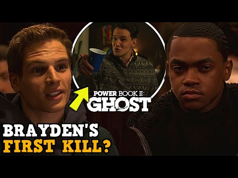 Power Book II: Ghost 'BRAYDEN'S FIRST KILL?' Explained!