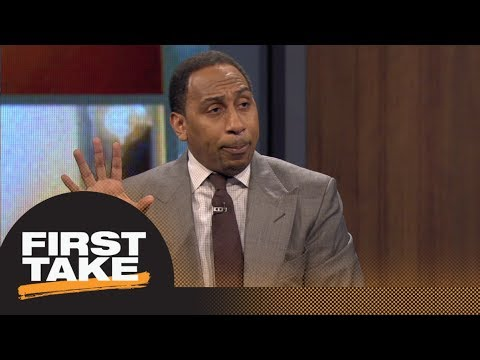 Stephen A. reacts to Tiger Woo …