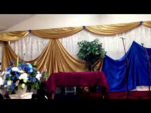 Church Decor - Full Wall Draping