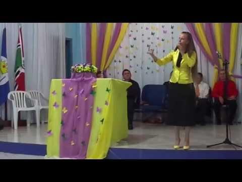 Pregadora Rosane Paim(Em XANXERÊ- Sc)Tema:Santidade Parte 6