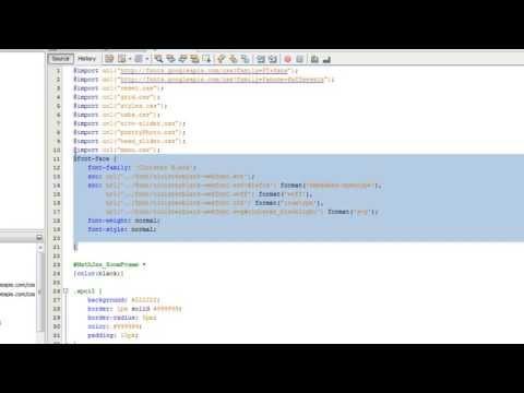 Mettre des polices de caractères atypiques avec font-face - Tutoriel CSS