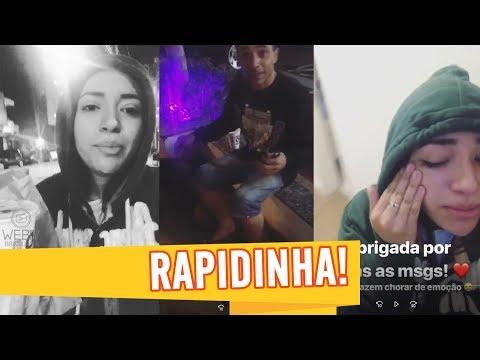 DANI RUSSO AJUDA RAPAZ NA RUA E SE EMOCIONA COM MENSAGENS DE FÃS