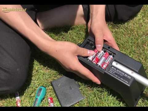 A Video of MD-3005B Kid Metal Detector, Assembling & Testing