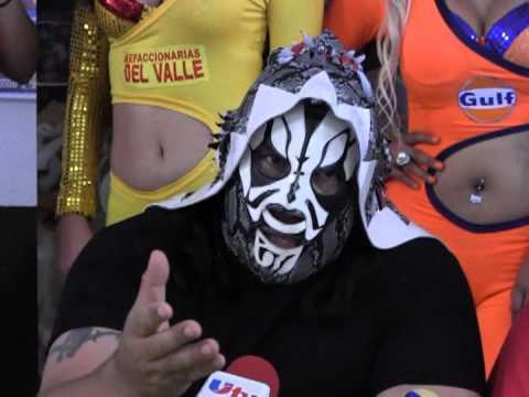 Lucha Libre TJ(Rueda de Prensa)El Hijo del Santo,LA Park VS Dr. Wagner y el Angel Blanco Parte1