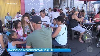 Bauruenses tem várias opções de lazer aos finais de semana