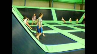 North Canton (OH) United States  City pictures : Inside Skymax Trampoline Arena, North Canton, Ohio