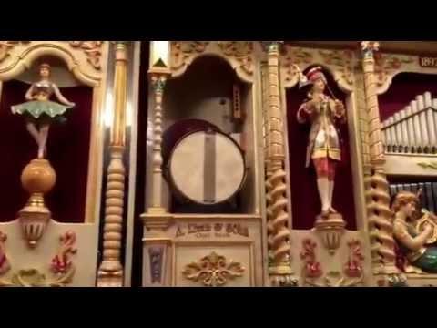 1892 Band Organ Drew Exposition 2: German Ruth & Sohn plays
