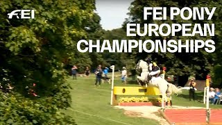 RE-LIVE | Eventing (Cross-Country) | FEI Pony European Championships 2018