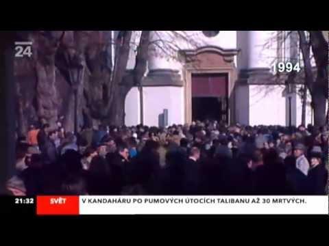 Pohřeb Karla Kryla