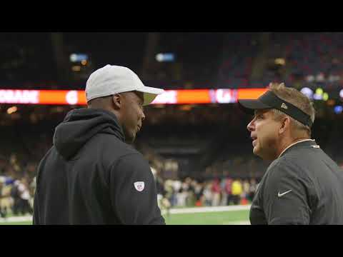 Watch new Saints QB Teddy Bridgewater on the field before Rams preseason game