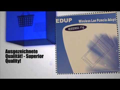 WLAN-Adapter PCMCIA 2,4GHz IEEE 802.11b/g  [8580] - m-ware.de