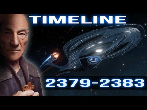 Star Trek Picard's Timeline (2379-2383)