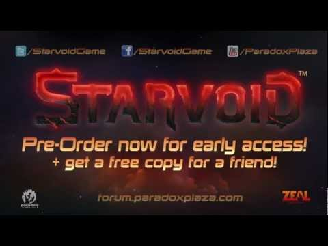 Starvoid Early-Access Preorder Trailer