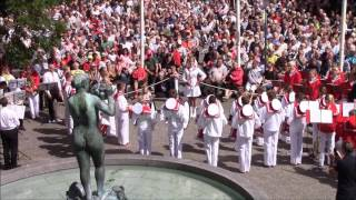 Koncert Rådhustorvet Trommekorps