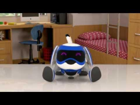 Teksta le chiot robotique