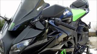 8. My 2009 Kawasaki Ninja ZX6R Special Edition MONSTER Energy Sportbike Walk Around Video