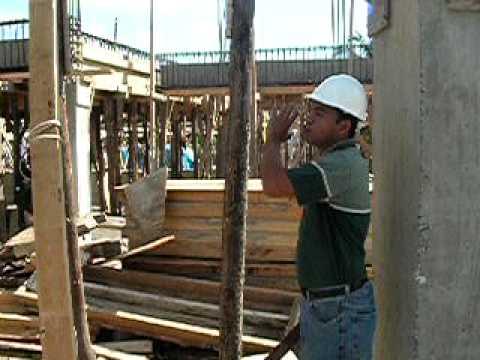 VIDEO Practica encofrado de madera PROM. No.2 CURSO TALLER MAESTRO CONSTRUCTOR (parte 3)