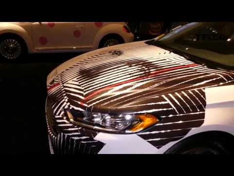 Cars Meet Art At The Miami Auto Show When A Lamborghini Just Isn 39 T Enough