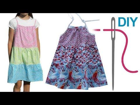 "Stufenkleid / Kleid selber nähen ""CHARLOTTE"" – Nähen für Anfänger"